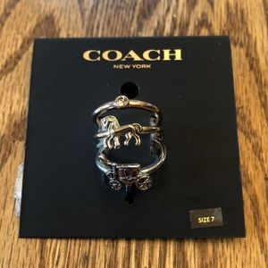 Set of Three Coach Rings